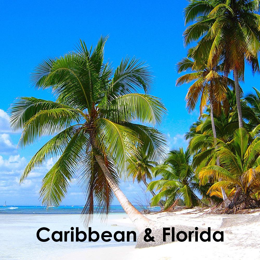 Caribbean and Florida