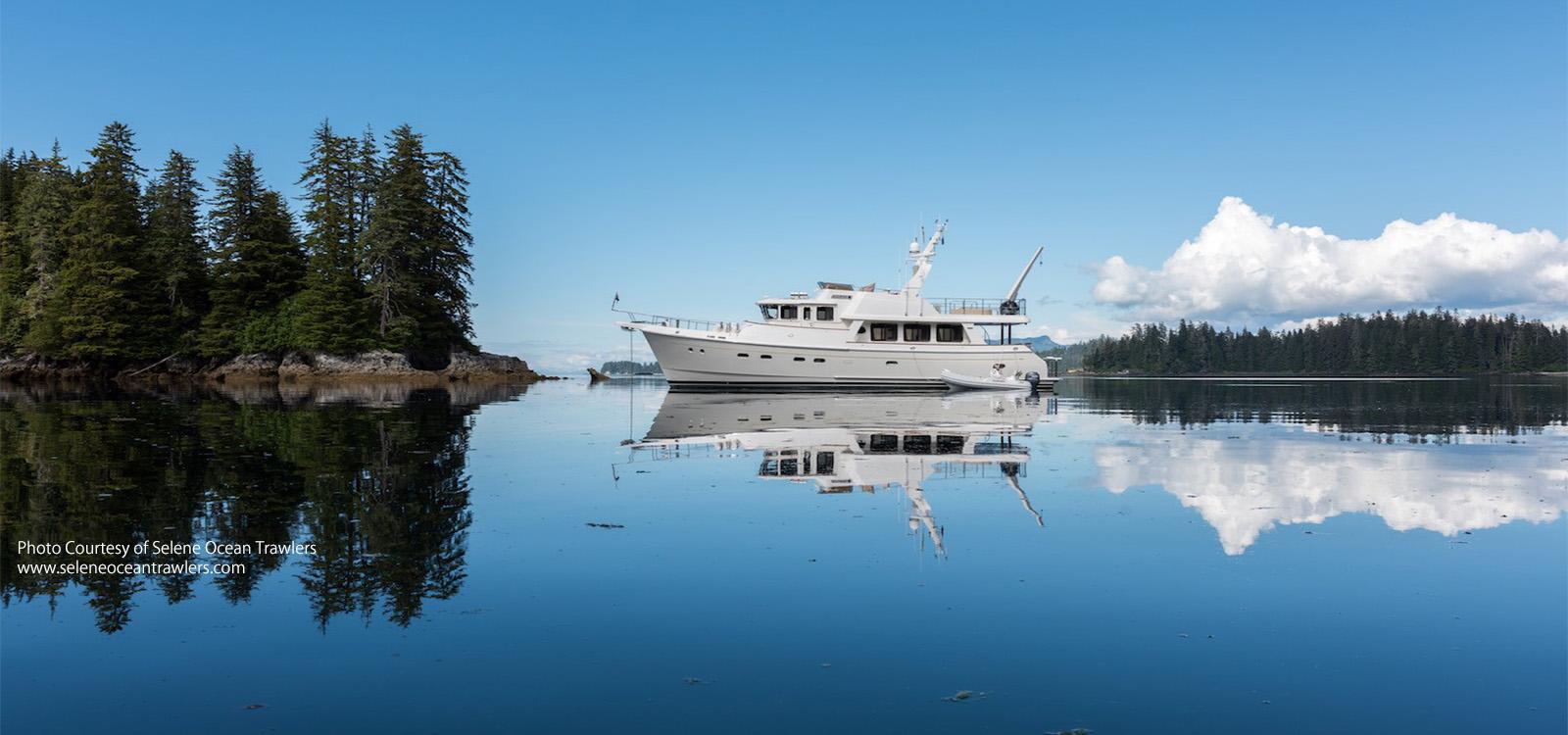 Selene 60 At Anchor